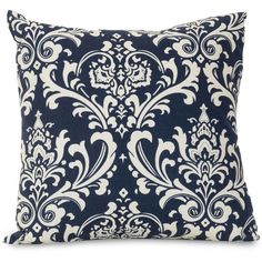 Majestic Home Goods French Quarter 20x20x8 in. Large Outdoor Pillow