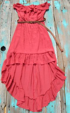 High Low Dress | Elusive Cowgirl - Western Wear, Cowgirl Clothing, Cowgirl Sunglasses