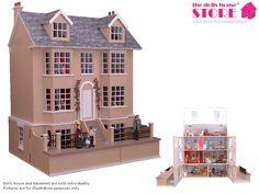 Dolls House Miniature Grove House - Over 10,000 other miniature dollshouse items in stock! Visit www.thedollshousestore.co.uk