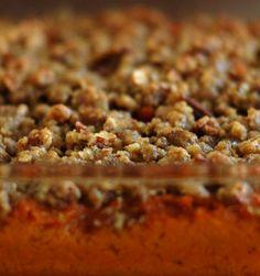 Twirl and Taste: Mrs. Murphy's Sweet Potato Praline Casserole-- this is really yummy:)