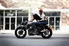 Moto-Mucci: PHOTO: CX500 Leaving MVR, Patrick Daly Photography