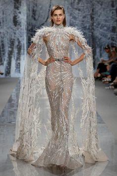 1e5479868f Ziad Nakad Alta Costura otoño-invierno 2017-2018, París. En la colección