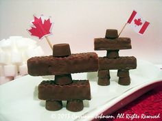 Inukshuk Candy Treats For Canada Day (not meant to demean or belittle native culture for a chintzy holiday. Meant to embrace all cultures that make Canada the country I love) Canada Day 150, Canada Day Party, Happy Canada Day, Visit Canada, O Canada, Backpacking Canada, Canada Travel, Canada Day Fireworks, Canada Day