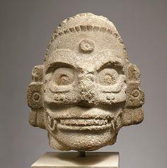 Head of a Rain God  10th-11th century  Yucatan-Mexico  Metropolitan Museum