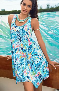 48e578abce1432 27 Best Lilly Pulitzer Summer 2017 images | Beach dresses, Beach ...