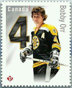 Bobby Orr stamp