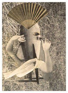Max Ernst (1891-1976) - 'The Chinese Nightingale' 1920 (photomontage)