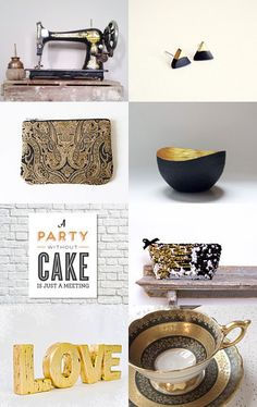 A golden memory, a lovely black and gold treasury I am featured in. --Pinned with TreasuryPin.com