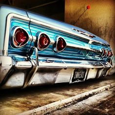 ◆ Visit MACHINE Shop Café... ◆ (1962 Chevrolet Impala Tailights)