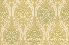 Peony (275PEBOXIN) - Little Greene Wallpapers - A lovely fluid trellis design around stylised peony blooms.  Available in 4 colours – shown in the shades of fresh boxington green colourway. Please ask for sample for true colour match.