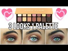 Today I decided to do a abh soft glam makeup tutorial. It's such a beautiful palette so I had to create 3 looks with this one palette! Thank you so much for watching! CAN WE GET THIS TO 2000... source