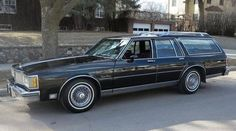 1987 Oldsmobile Custom Cruiser Station Wagon