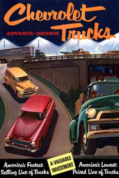 1955 Chevrolet Truck Ad