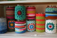 Crochet vases | Flickr – Condivisione di foto!