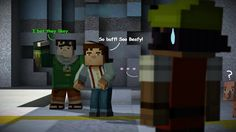 Minecraft Story Mode : Tuff Stuff by VetorHuskySamuria