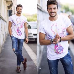Popular Fashion Blogs, Mdv Style, Hugo Boss, Summer Collection, Male Models, Mens Fashion, Street Style, Celebrities, Mens Tops