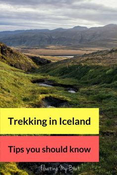 How to prepare for multiday off-path trekking in Iceland - practical information