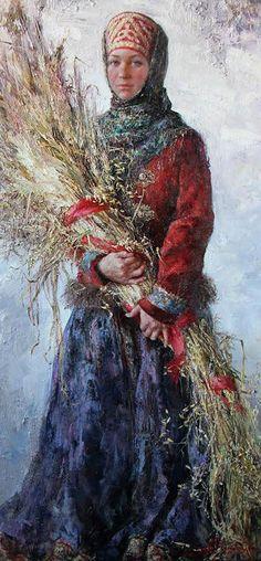 ANNA  VINOGRADOVA - Peasant Girl