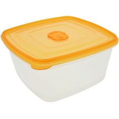 Sure Fresh Professional Oval Plastic Container with Lid 53 oz