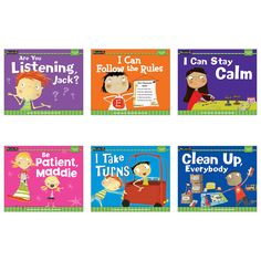 Develop positive behavior through reading and discussions about emotions and social interaction. Stories told from the perspectives of diverse children enable students to learn about relationships and More