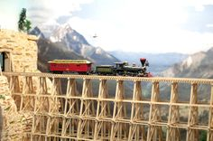 Model Train Photo - Trestle