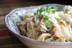 This is a new twist on a slow cooker staple. Every gal needs more...