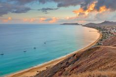 Porto Santo (9kms beach), Madeira Islands Portugal