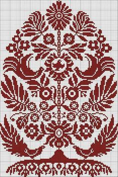 Cross stitch Pattern Ukrainian Embroidery Wedding Towel Rusnyk Napkin Pillow