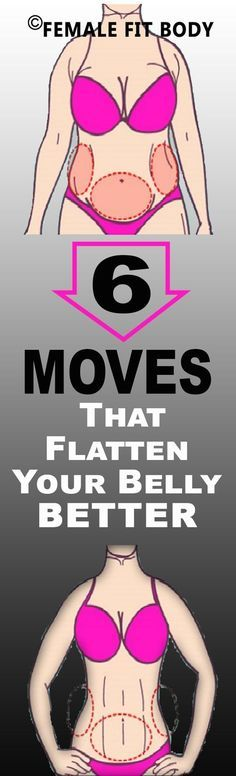 These six abs moves will flatten your lower belly and tighten your entire ... to blasting more fat through your workouts is working more muscles: