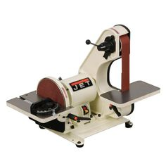 JET J-41002, 2-Inch by 42-Inch Bench Belt and Disc Sander Machine
