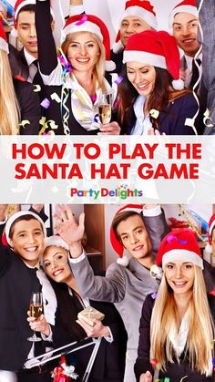 How to Play the Santa Hat Game | Party Delights Blog