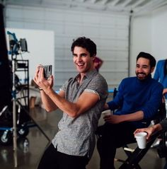 emiliomk: Behind the scenes at newest music video Every Single Night! Glee Cast, It Cast, Photogenic Guy, Architecture Design, Darren Criss Glee, George Mackay, Team Starkid, Harry Potter, Diana Ross