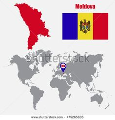Find Moldova Map On World Map Flag stock images in HD and millions of other royalty-free stock photos, illustrations and vectors in the Shutterstock collection. Thousands of new, high-quality pictures added every day. Royalty Free Stock Photos, Flag, Illustration, Pictures, Art, Craft Art, Photos, Illustrations, Kunst