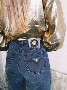 Versace Jeans Couture Dark Denim, 1990s | Second Cousin Vintage