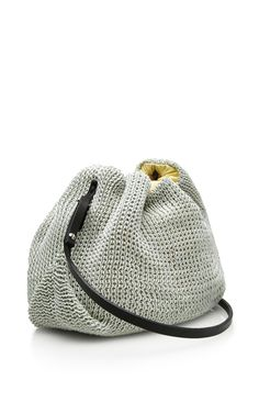 Figii Knit Crossbody Bag by Muun Now Available on Moda Operandi