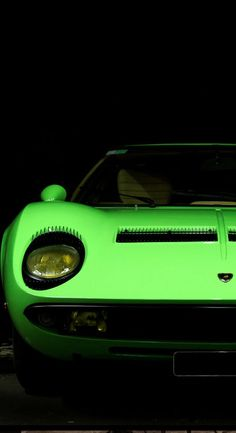 #WildWednesday's don't come much crazier than this Lamborghini Miura in Green! Check it out by hitting the image...