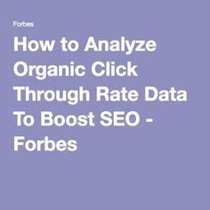 Analyzing organic click through rate data to boost SEO via @brentgleeson