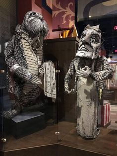 """""""The time has come,"""" the Walrus said, """"to talk of many things..."""" Lewis Carroll was born on this day in 1832. [The Walrus and the Carpenter puppets created by Addis Williams for the 1982 Broadway production of Alice in Wonderland]"""