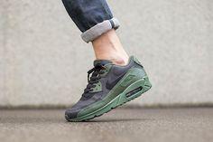 "Nike Air Max 90 Winter Premium ""Carbon Green"" - EU Kicks: Sneaker Magazine"