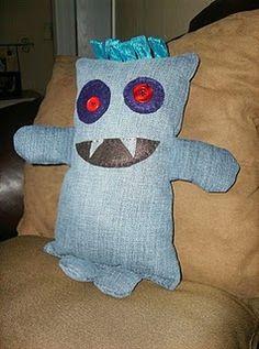 DIY Monster   #Sew Good