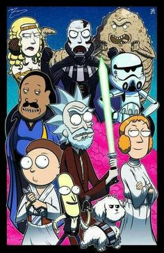 Star wars Rick & Morty