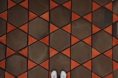 Terracotta floor tiles handmade by Todobarro