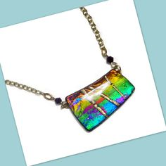 https://flic.kr/p/D4hysR | polymer clay Faux Dichroic Pendant | available in my Etsy shop Beadazzleme.etsy.com