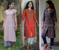 Simple Designer Kurtha Online