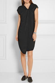 Maison Margiela | Twist-front crepe dress | NET-A-PORTER.COM