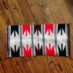 Future Lumbar pillow… love this vintage navajo  textile