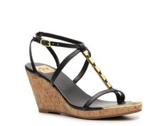 DV by Dolce Vita Taben Wedge Sandal Dsw Shoes, Ankle Straps, Playing Dress Up, Cute Shoes, Wedge Sandals, Fashion Beauty, Wedges, My Style, Boots