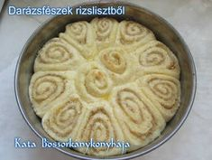 Darázsfészek rizslisztből (Gluténmentes)   Kissné Zilahi Katalin receptje - Cookpad receptek Pie, Desserts, Food, Torte, Tailgate Desserts, Cake, Deserts, Fruit Cakes, Essen