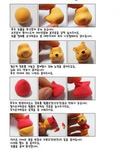 DIY Polymer Clay Winnie the Pooh Tutorial