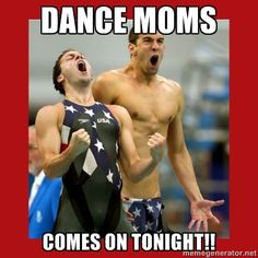Yes!!! Yes!!!! That is soo going to be me in 20 years at the Olympics screaming yes dance moms!!!